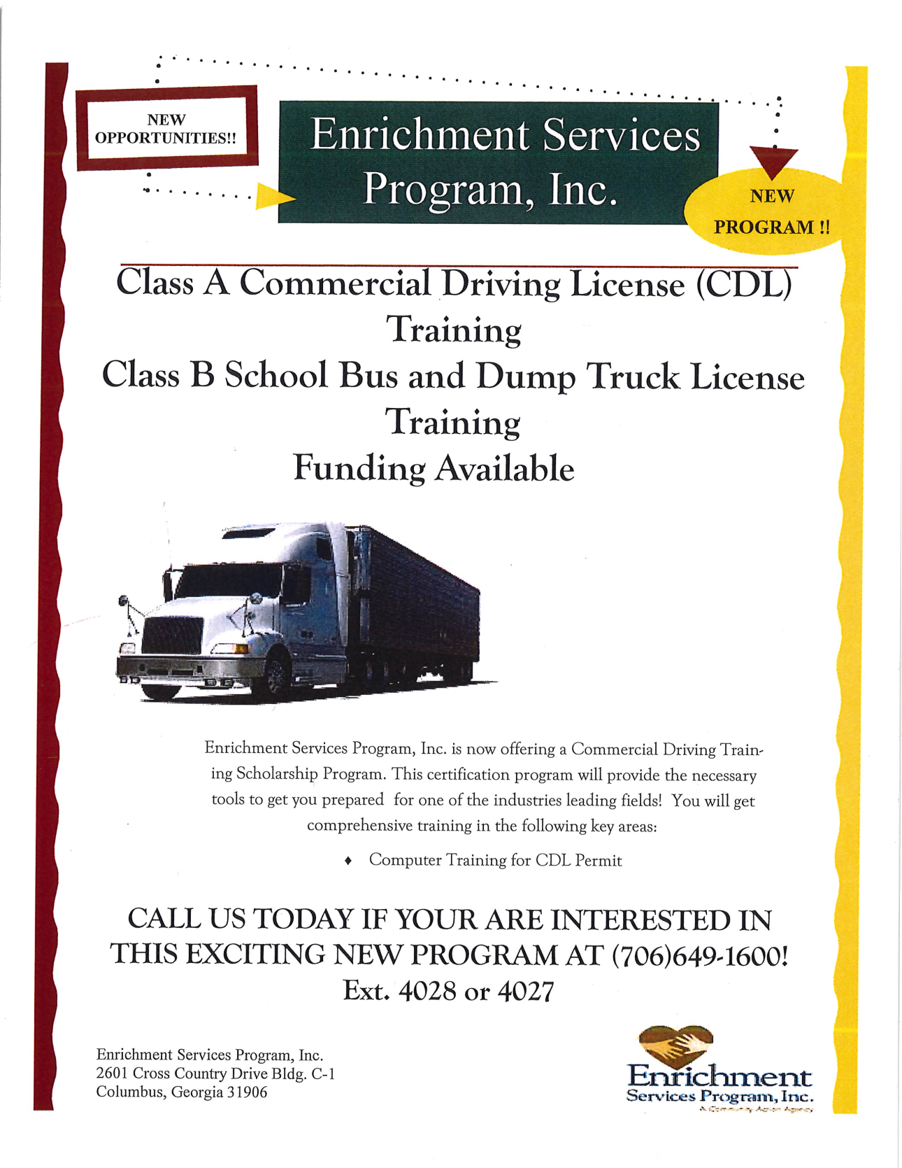 Fw info on cdl training homeless resource network fw info on cdl training 1betcityfo Image collections